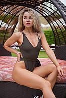 Женский пляжный купальник Swamp Waves oversize