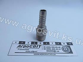 """Штуцер AGR-K 3/8""""-19  (под шланг dу=10 мм.)"""