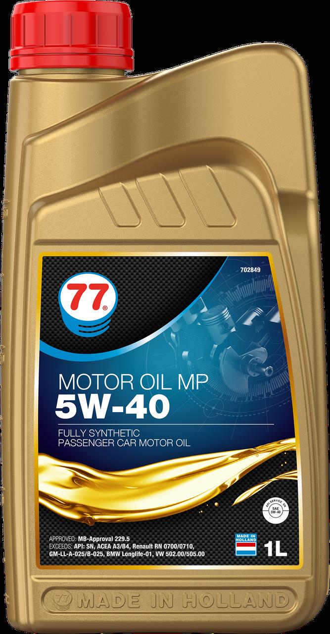 77 MOTOR OIL MP 5W-40 (кан. 1 л)