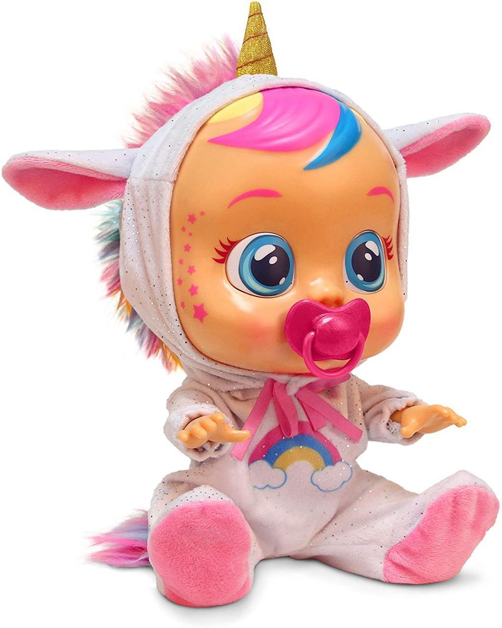 Кукла пупс плакса Единорог Cry Babies Dreamy Baby Doll