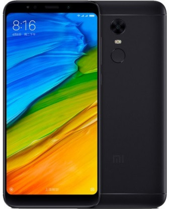 "Смартфон Xiaomi Redmi 5 2/16GB Black Global, 12/5Мп, 8 ядер, 2sim, 5.7"" IPS, 3300mAh, 4G,"