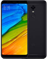"Смартфон Xiaomi Redmi 5 2/16GB Black Global, 12/5Мп, 8 ядер, 2sim, 5.7"" IPS, 3300mAh, 4G,"