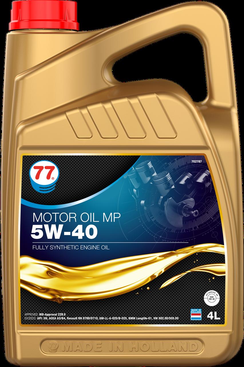 77 MOTOR OIL MP 5W-40 (кан. 4 л)