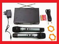 Радіосистема Shure SH-600G2 база 2 радіомікрофона, фото 1