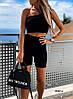 Женский костюм с велосипедками 10147 ш, фото 2