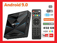 TV Box HK1 Super 4Gb/32GB Android 9.0 Смарт приставка, фото 1