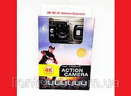 Экшн камера SJ7000R WiFi 4K Ultra HD + пульт!