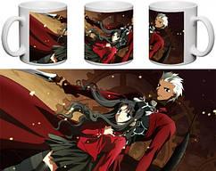 Кружка чашка  Fate: Stay Night - Арчер, Рин