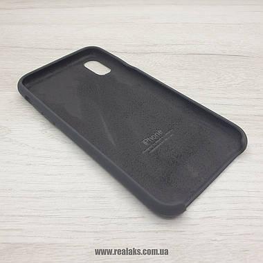 Чохол Silicone Case для Apple iPhone X / Xs black, фото 2