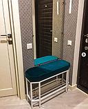 Вешалка настенная, Металическая вешалка Loft (80*50), фото 2