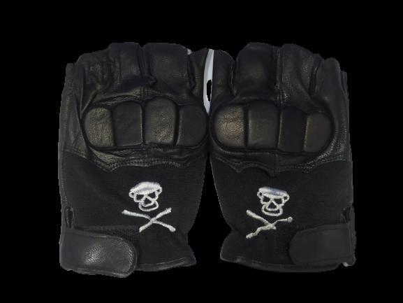 Перчатки спортивные ВС-169 L (кожа)