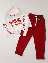 """Крутой костюм""""YES"""" для модных девочек,подростков   Хит Сезона!"""