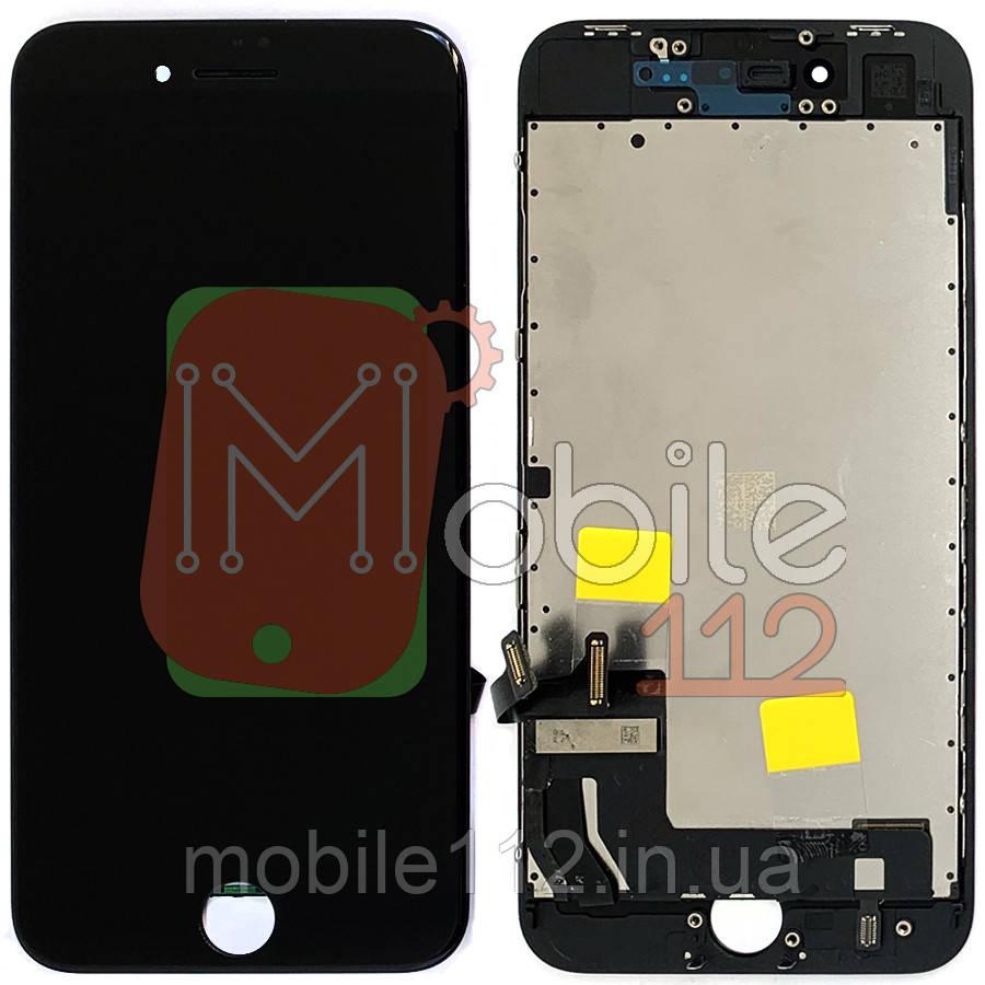 Экран (дисплей) Apple iPhone 8, SE 2020 + тачскрин черный оригинал Китай