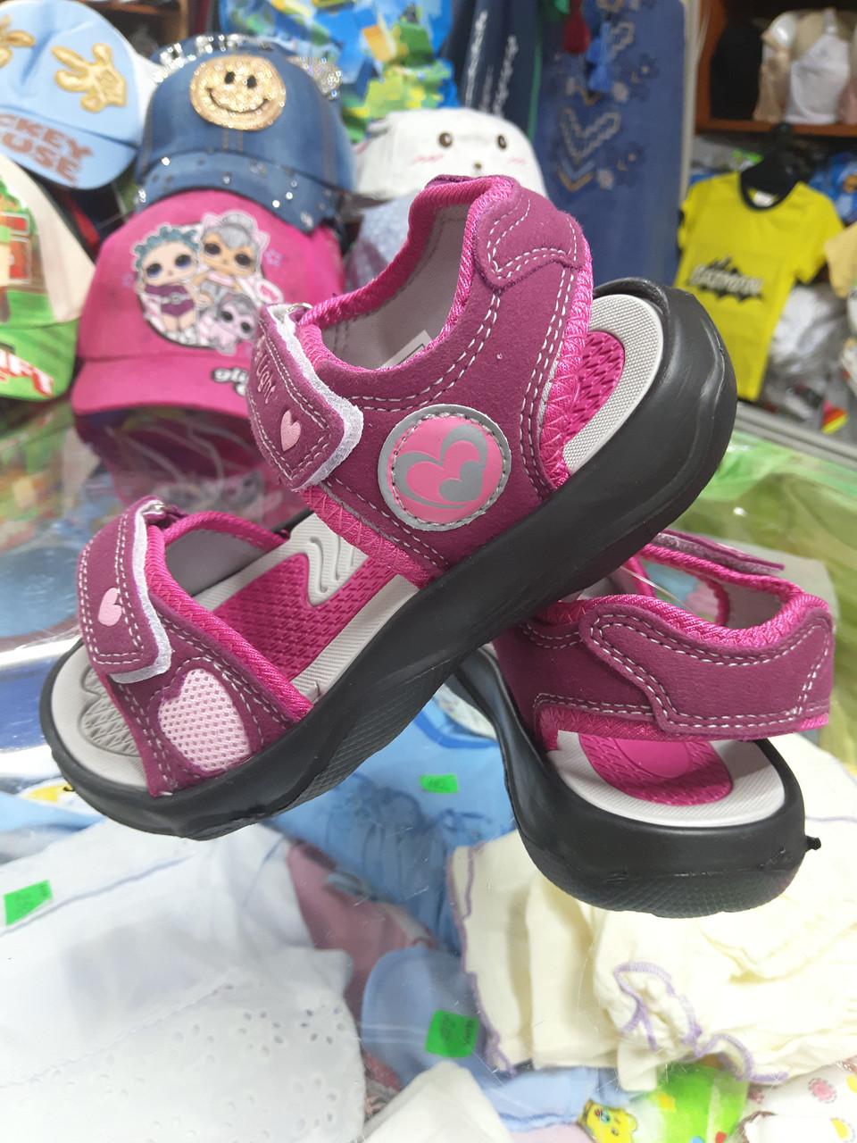 Летние спортивные босоножки сандалии для девочки размер  30 31 32