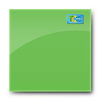 Стеклянная магнитно-маркерная доска (Зелёный цвет)