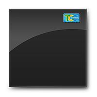 Стеклянная магнитно-маркерная доска (Чёрный цвет)