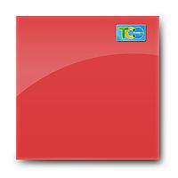 Стеклянная магнитно-маркерная доска (Красный цвет)