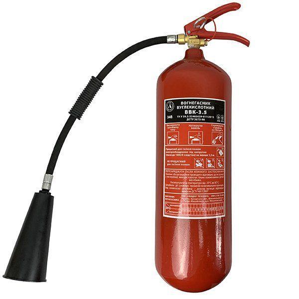 Огнетушитель углекислотный ВВК-3.5 (ОУ-5 / ВВ-5)