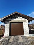 Секционные гаражные ворота, фото 3