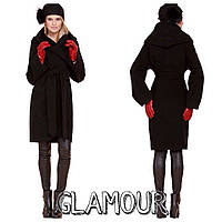 Пальто удлинненное, ткань кашемир внутри подкладка, 4 расцветки ЕСтил № 484-59