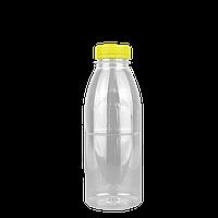 Бутылка ПЕТ 500мл с крышкой 5шт/уп диаметр горла 38мм, фото 1
