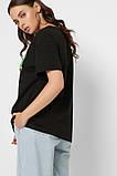 Футболка женская Скрудж Макдак размер M. Черная футболка женская CRC 32612-8, фото 5