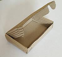 Коробка бурая 152х105х32 двуслойная (прфильВ)