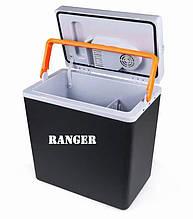 Автохолодильник 20л с подогревом +55 +5 переносной для еды напитков Ranger Cool 12В 220В