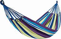 Гамак Подвесной Уличный Туристический для Дома Дачи Походный King Camp Canvas Нammock Purple Yellow