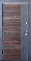 Двери входные металлические Qdoors Премиум Kale Бостон-М бетон темный/бетон светлый