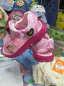 Літні спортивні босоніжки, сандалі для дівчинки розмір 24 25 26