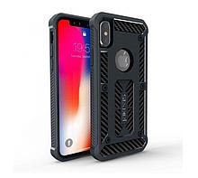 """Чехол противоударный для Apple iPhone X (5.8"""") (Черный)"""
