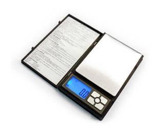 Ювелирные электронные весы книжка Notebook 1108-2 200gr, Карманные весы