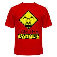 Футболка Danger, футболки на заказ с Breaking bad