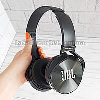 Bluetooth гарнитура JBL 450BT черная / Беспроводные наушники с микрофоном / Bluetooth гарнитура JBL