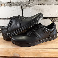 Мужские кожаные туфли AN kross 40 размер