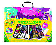 Crayola Inspiration Art Case Набор Крайола для творчества 140 предметов розовая упаковка