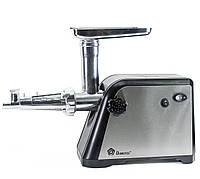 🔝 Электромясорубка с соковыжималкой с насадками и теркой Domotec MS-2020 3000W электрическая мясорубка 🎁%🚚