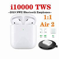 I10000 TWS AirPods Новие Беспроводные сенсорные наушники Bluetooth
