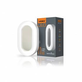 LED светильник ART ЖКХ овальный VIDEX 11W IP65