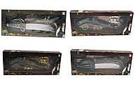 Пиратский набор 666-349 96шт2 ружье, аксессуары, в коробке