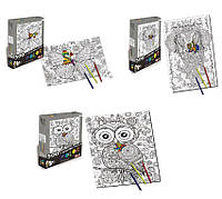 Пазлы 8810598 48шт2раскраска-антистресс,3 вида,500 дет,в наб.флом., в коробке35224см
