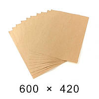 Пакувальний папір в аркушах 90 грам - 600 мм × 420 мм / 500 шт