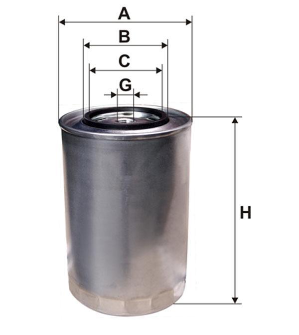 WIX 95028E Фільтр паливний