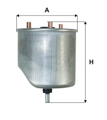 WIX WF8460 Фільтр паливний