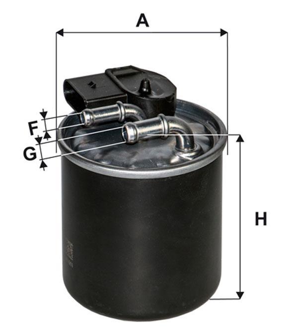 WIX WF8497 Фільтр паливний