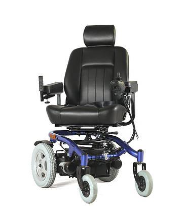 Электроколяска для инвалидов W-1024. Инвалидная коляска. Широкое сиденье 50 см., фото 2