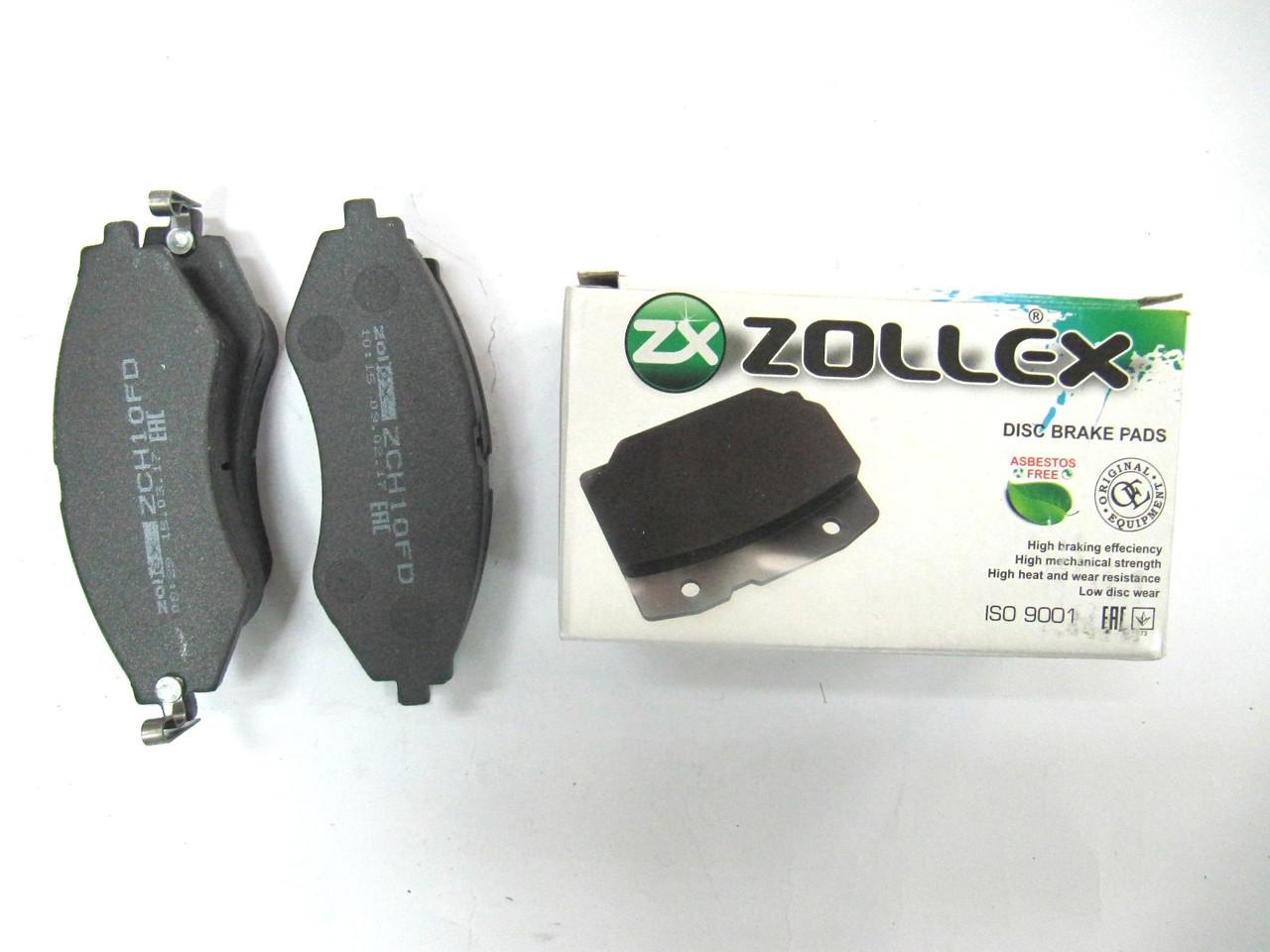 Zollex Гальм. колодки (передн) Lacetti / Nubira ZCH10F