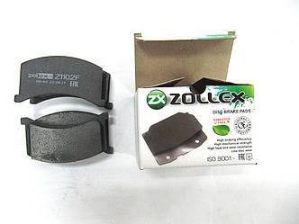Zollex Гальм. колодки (передн) ЗАЗ 1102 Z1102F