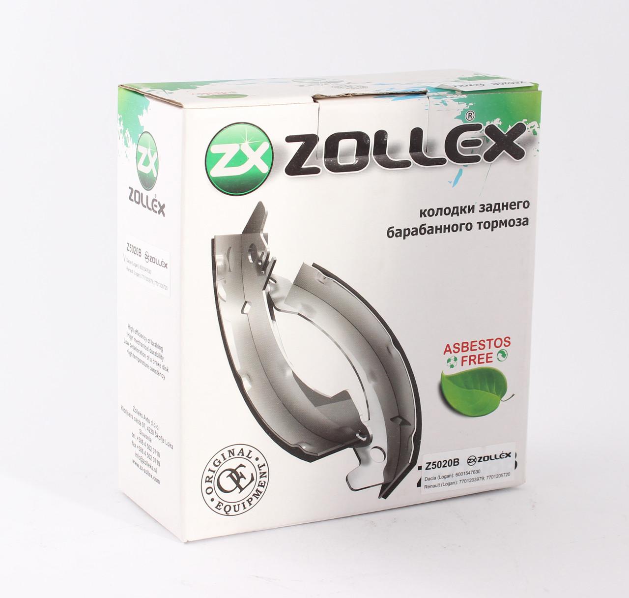Zollex Гальм. колодки (задні) Dacia-Renault(Logan) Z5020B